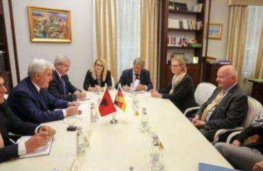 Interior minister Xhafaj meets vice president of Bundeskriminalamt