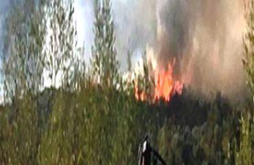 Zjarr në Tarabosh, rrezikohen disa banesa në fshatin Zeus