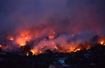 Rikthehen zjarret në Greqi, Halkididia përfshihet nga flakët
