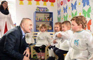 Dita e të Drejtave të Fëmijëve, Presidenti i Republikës me fëmijët talasemikë