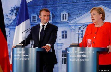 """Merkel e Macron """"sfidojnë"""" Trump: Të krijojmë një ushtri të përbashkët europiane"""