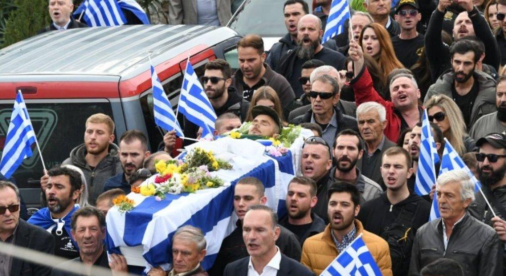 TENSIONET NË BULARAT/ Varrimi i Kacifasit nën thirrjet antishqiptare të ekstremistëve grekë