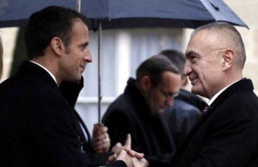 Meta përcjell mesazh paqeje pas pritjes në Elize nga Presidenti francez, Macron
