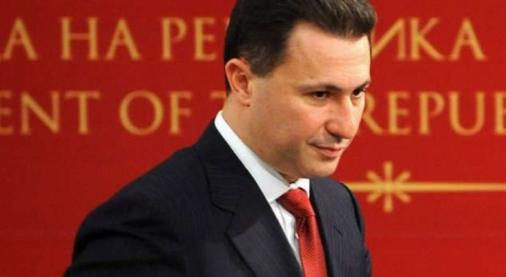 Gruevski fled to Hungary by using the embassy's car in Albania