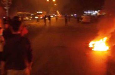 """Protesta e banorëve të Unazës së Re rinis me thirrjet: """"Jemi qytetarë, nuk jemi shpellarë, poshtë hajdutët!"""""""