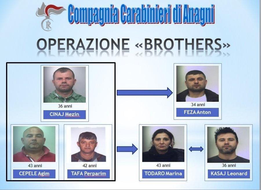 Kapen shqiptarët e bandës së drogës në Itali