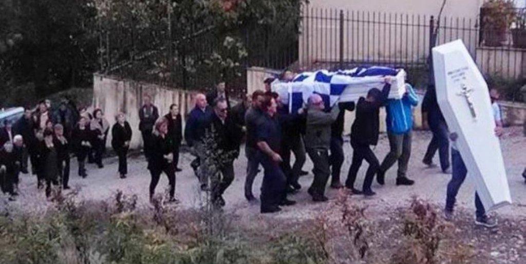 """VARRIMI I KAÇIFAS/ """"Blindohet"""" Gjirokastra dhe Bularati, kapen maska, bluza e flamuj me shkrime ekstremiste"""