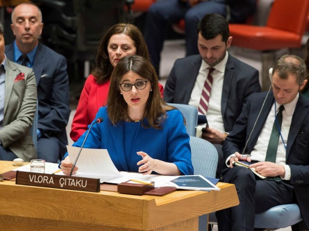 Debates between Kosovo and Serbia at the UN
