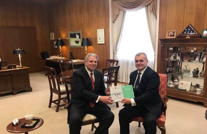 Kreu i KLSH takon në Washington Kryekontrollorin e SHBA-së, riaktivizohet bashkëpunimi mes institucioneve