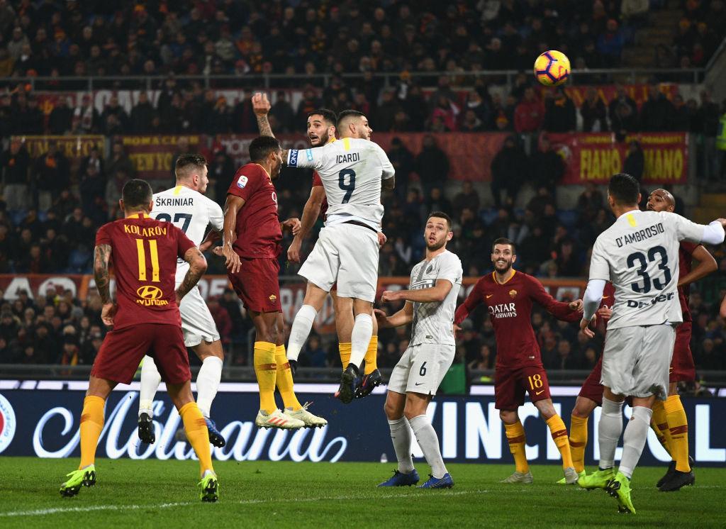 Seria A/ Panucci në avion nuk ia del dot të kapë Roma-Inter
