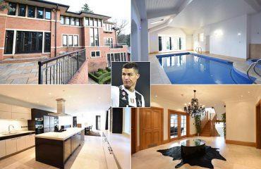 Del në shitje për 4 milionë euro shtëpia e Ronaldos në Manchester