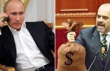 """""""ANTENA JASHTË FAMILJES""""/ Vladimir Putin telefonon Edi Ramën: Si të vjedh si ty?"""