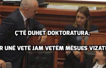 """""""ANTENA JASHTË FAMILJES""""/ Ogerta Manastirliu: Ramës i mjafton titulli """"Mësues Vizatimi"""""""