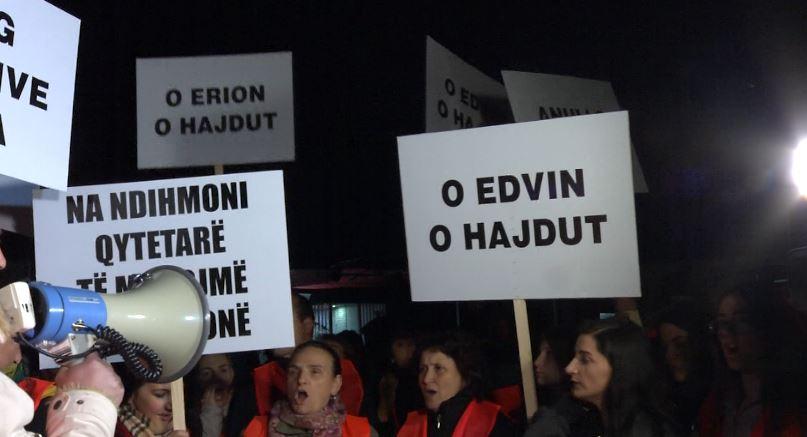 Shoqërohet 5 nga protestuesit e Astirit, banorët zhvendoset tek Drejtoria e Policisë