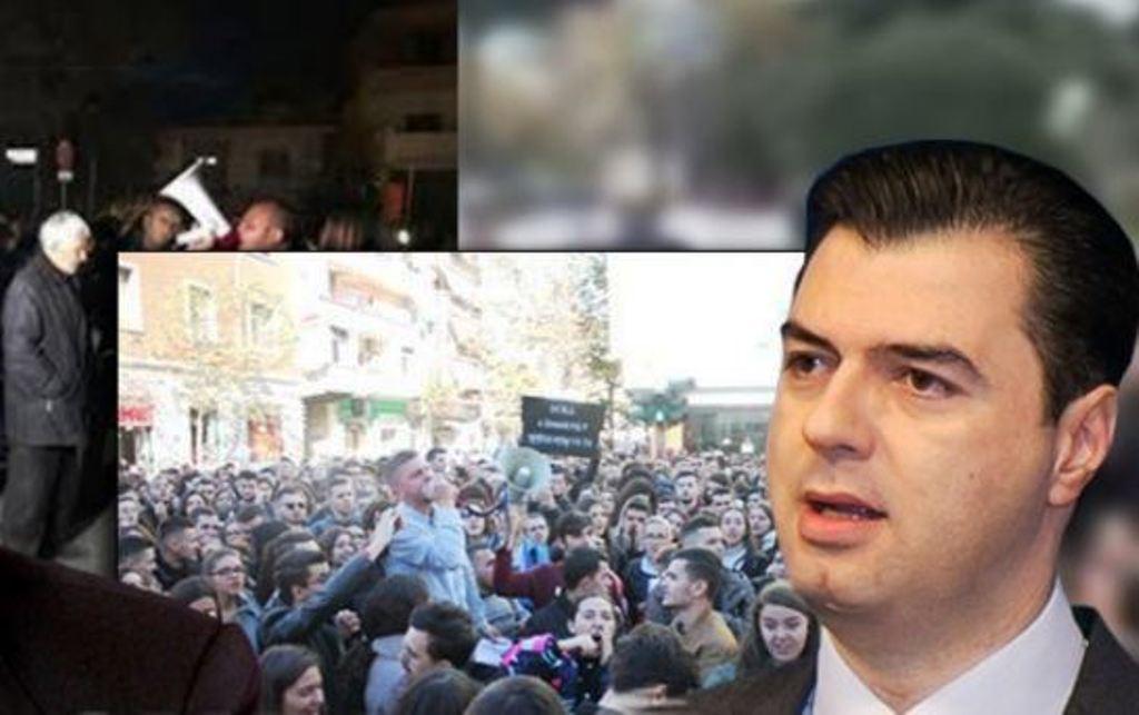 Basha: Të rinjtë dhe shqiptarët kuptuan se projekt i kësaj qeverie është grabitja