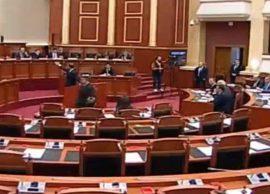 Parlament, Rama Protesta i dha shuplakë qeverisë,