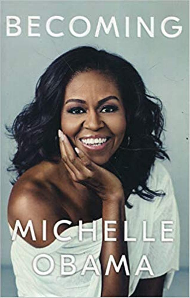 """Becoming"" i Michelle Obama më i shituri"