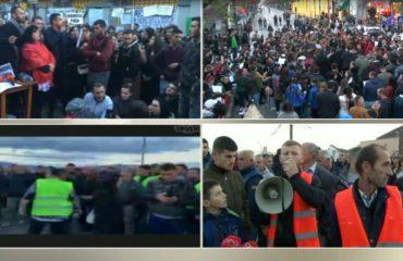 """Protestat """"marrin dhenë"""", Shkodra, Bulqiza e Lushnja kërkojnë zgjidhje për problemet e tjera"""
