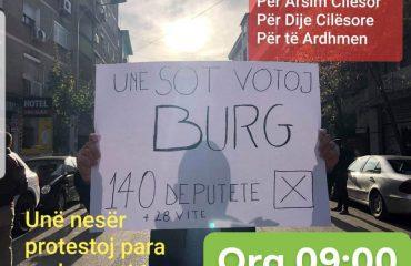 Pritet me interes vendimi i ministres Nikolla, nesër protesta zhvendoset para dyerve të Kuvendit