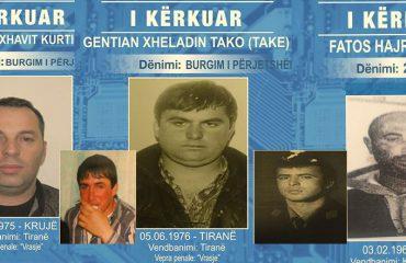 Policia e Shtetit: Ja lista me 22 personat më të kërkuar në qarkun e Tiranës