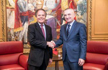 Presidenti Meta pret në zyrë kryediplomatin italian Enzo Moavero Milanesi