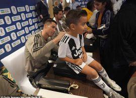 JuveMilan Ronaldo bën të lumtur një tifoz arabm