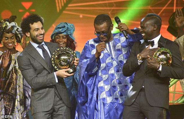 Çmimi/Mohamed Salah, Lojtari Afrikan i Vitit 2018