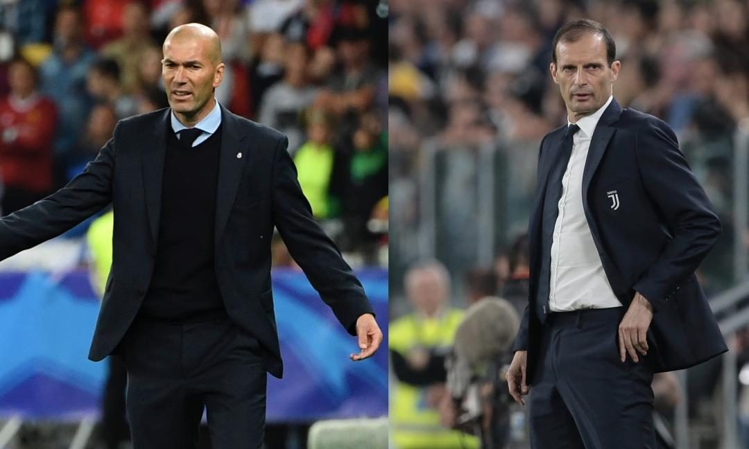 "Reali vendos si objektiv Allegrin, tek Juventus ""ulet"" Zidane"