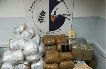 Policia greke arreston 6 trafikantë droge, mes tyre 3 shqiptarë