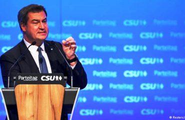 Gjermani, Markus Söder kryetar i ri i CSU-së