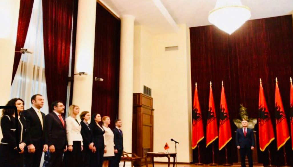 New cabinet members sworn in, Rama's nomination still pending