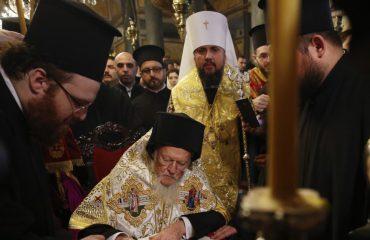 Zyrtare, Kisha Ortodokse e Ukrainës pavarësohet