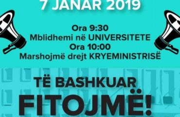 Albanian students to resume their protest