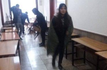 Protesta e studentëve zhvendoset brenda fakulteteve