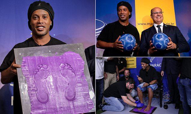 """Brazil/Ronaldinho nderohet me gjurmët në """"Maracana"""""""