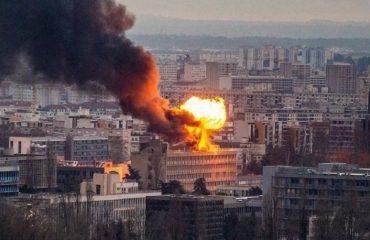 RRJEDHJE GAZI/ Shpërthim dhe flakë në Universitetin e Lionit, kaos dhe tre të plagosur