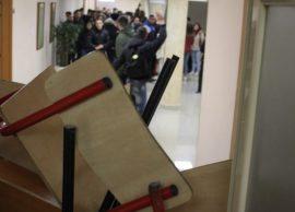 Protestës së Tiranës i bashkohen edhe studentët e