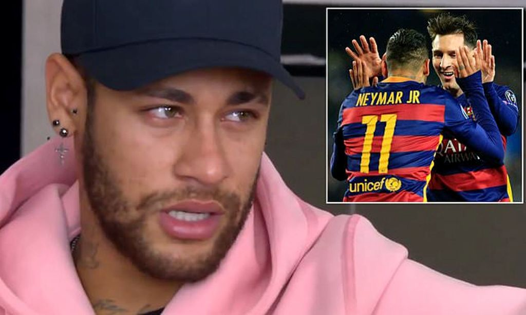 """Neymar në lot, e cilëson """"shumë special"""" Lionel Messi"""