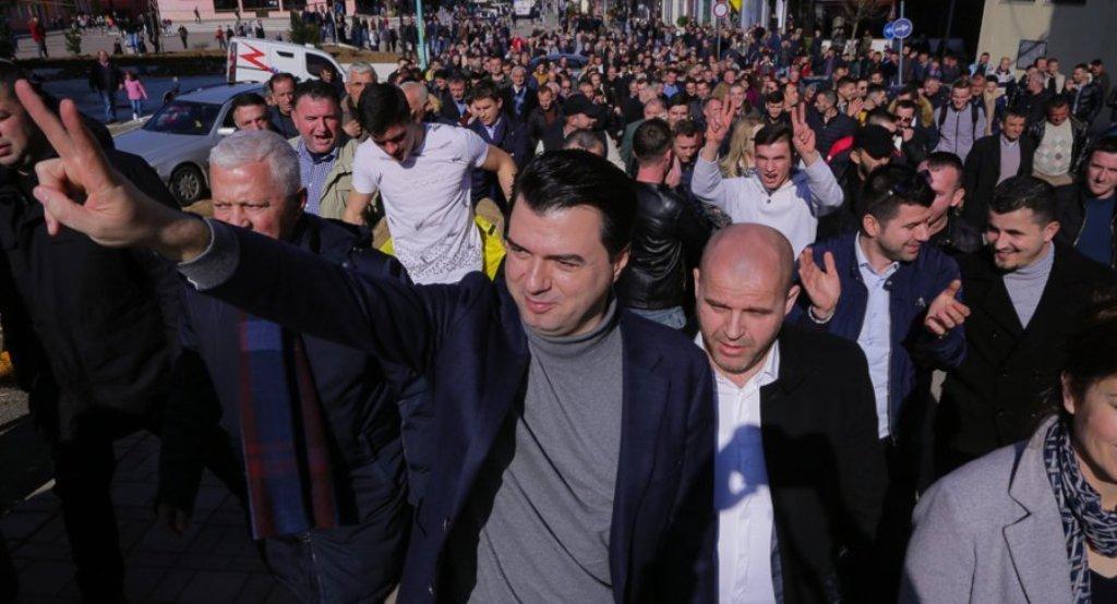 Basha në Rrëshen: Më 16 shkurt t'i japim fund grushtit të shtetit. Protesta edhe në qytete të tjera