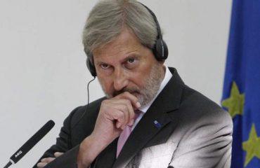 Hahn: KE, kontroll prokurimeve publike të qeverisë shqiptare