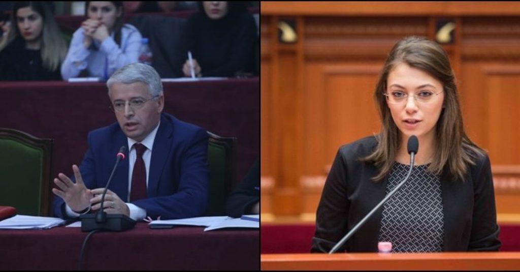Ministri Lleshaj-deputetes së LSI:  Me ju do flas kur të mbaroni universitetin, do na zvarrisësh ti ne ë...
