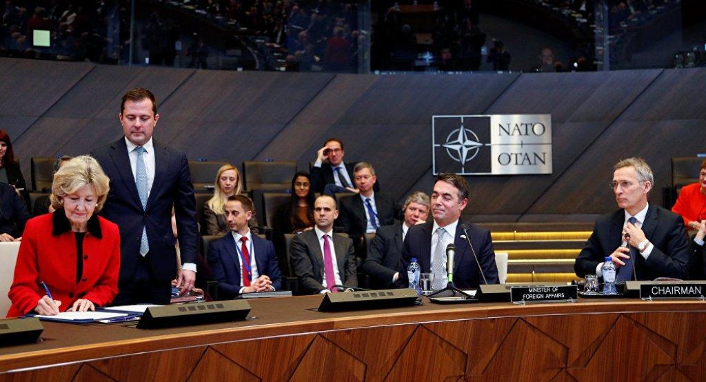 NATO Allies sign Accession Protocol for Macedonia