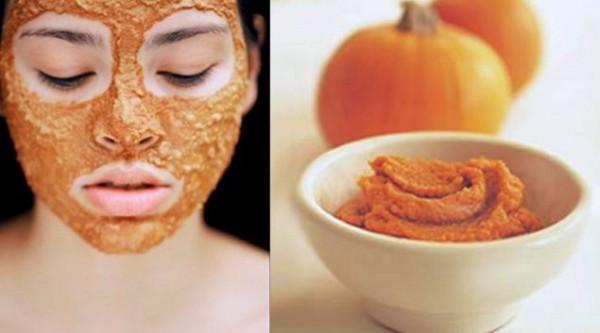 Maskë për fytyrë që përmban kungull