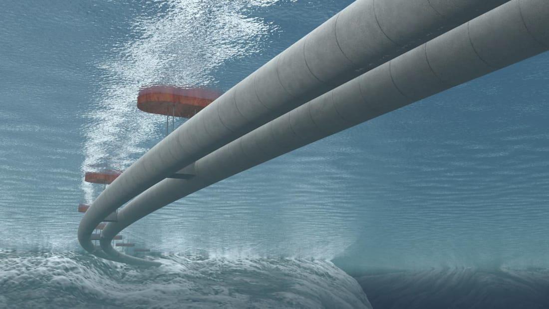 """Udhëtimi në det """"pa traget"""", Norvegjia zbulon projektin infrastrukturor prej 40 miliardë dollarë"""