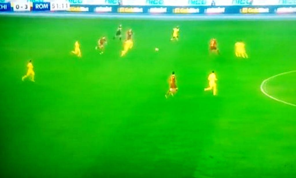 Roma mposht Chievon, renditet e katërta