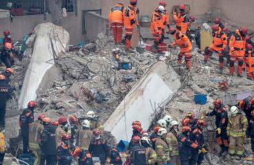 Shembja e ndërtesës në Stamboll ka shkuar në 21 numri i të vdekurve