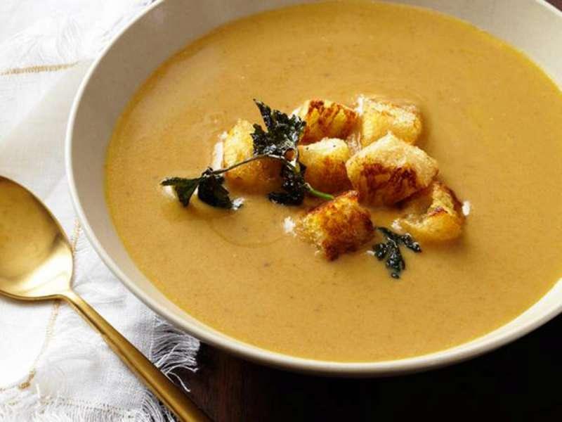 RECETA GATIMI/ Supë me gështenja e majdanoz
