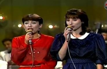 """""""Nuk e Harroj! E kënduan 32 vjet më parë...dhe sot shqiptarët në emigrim nuk i harrojnë dot motrat Libohova"""