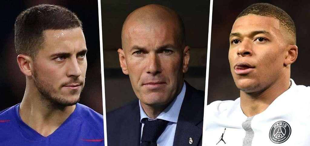 REAL MADRID/ Zidane në kërkim të yjeve, gati 110 mln euro për Hazard dhe mega-ofertë për Mbappe