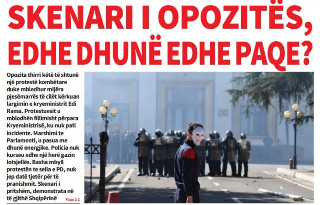 """Lexoni sot, e Diel 17 Mars 2019 në gazetën """"Albanian Free Press"""""""